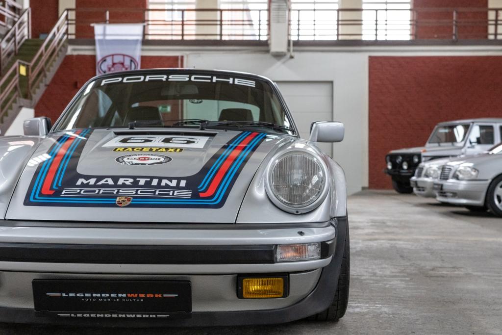 Porsche 930 1986 Turbo Martini Und 991 Gt3 Grau Schalter Legendenwerk