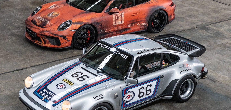 LegendenWerk Porsche 930 TURBO Martine 991 GT3 Jägermeister